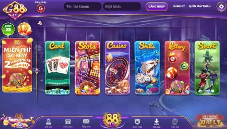 G88 Vin | 1G88 Win – Tải Game G88 APK, iOS, AnDroid, PC